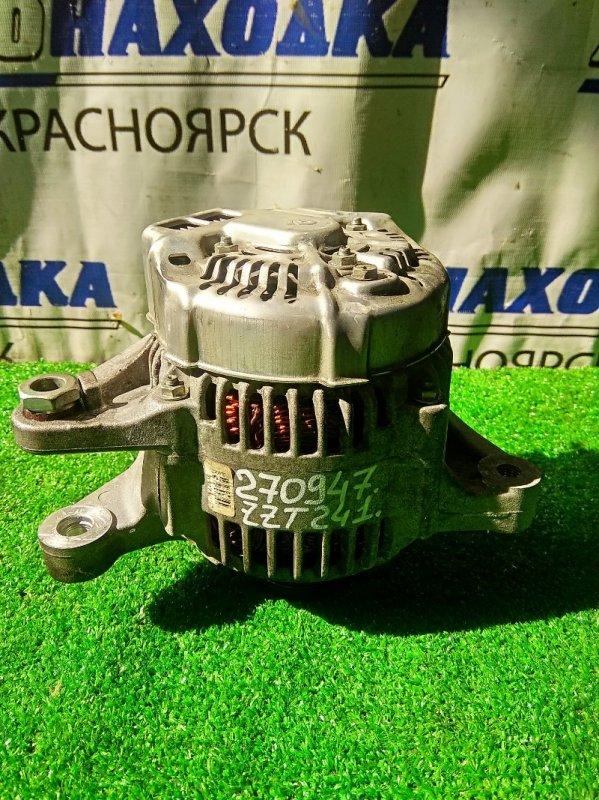 Генератор Toyota Caldina ZZT241W 1ZZ-FE 2005 102211-2710 80 А, 4 контакта, пробег 61 т.км. ХТС. С