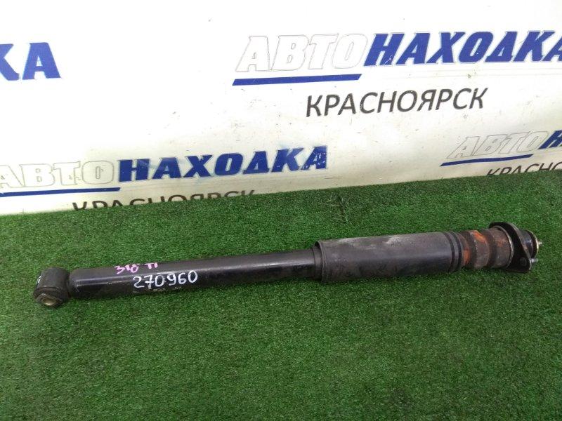 Амортизатор Bmw 318Ti E46 N42B20A 2001 задний задний, с пыльником и опорой, пробег 21 т.км.