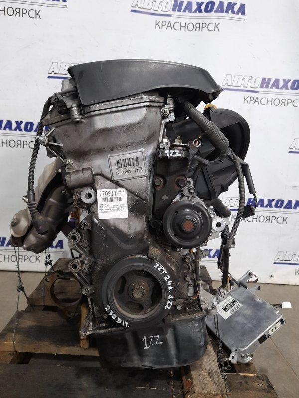 Двигатель Toyota Caldina ZZT241W 1ZZ-FE 2005 № Z008756 пробег 68 т.км. 2005 г.в. В ХТС. С аукционного авто.