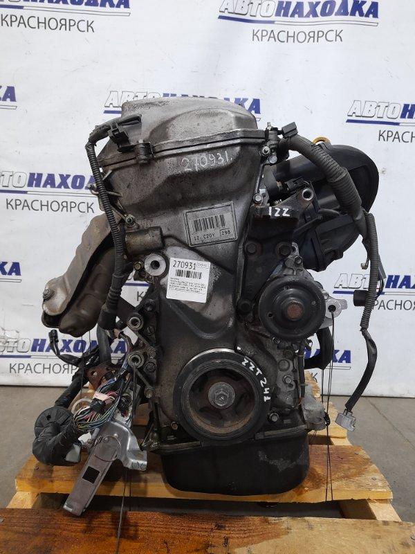 Двигатель Toyota Caldina ZZT241W 1ZZ-FE 2005 № Z018181 пробег 61 т.км. 2005 г.в. В ХТС. С аукционного авто.