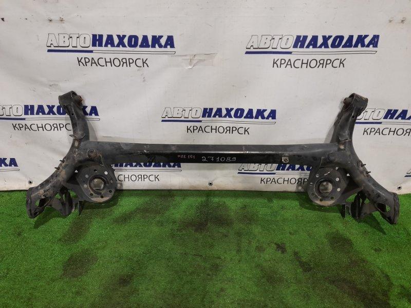 Балка поперечная Toyota Corolla Axio NZE161 1NZ-FE 2012 задняя задняя, без ступиц