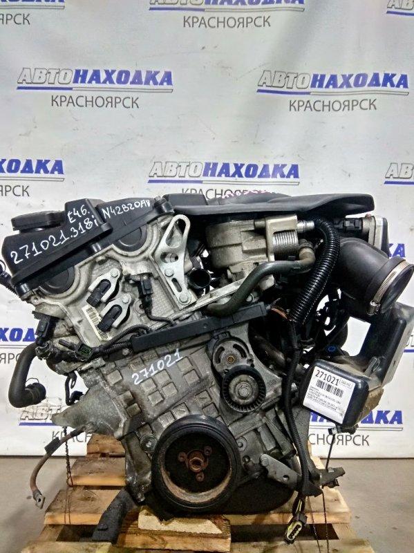 Двигатель Bmw 318Ti E46 N42B20A 2001 N42B20A № A189G941 04.2003 г.в. Пробег всего 21 т.км. (!) Состояние