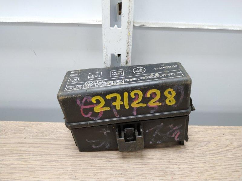 Блок предохранителей Toyota Carina AT170 5A-FE 1990 подкапотный