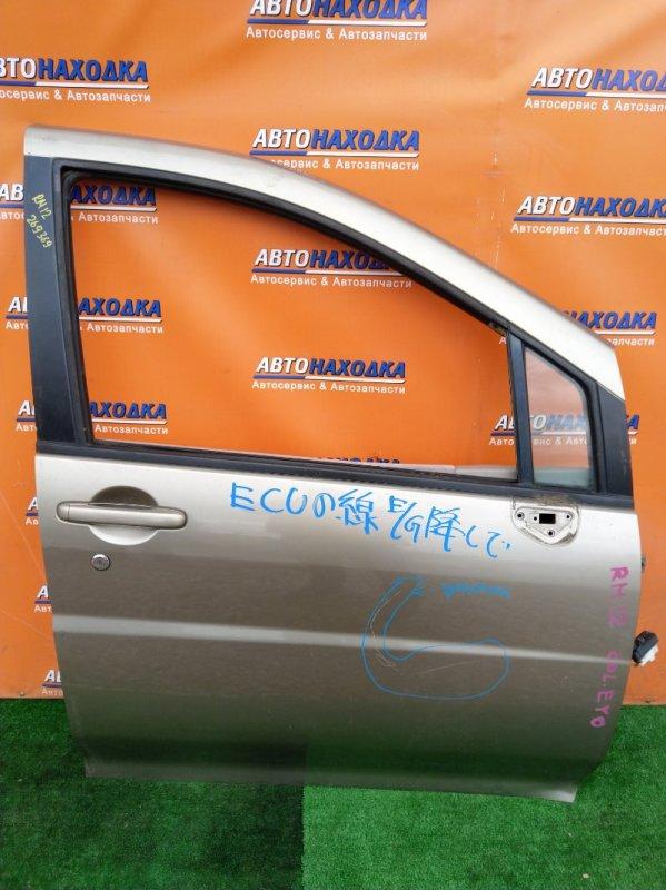 Дверь Nissan Liberty RM12 QR20DE 06.2003 передняя правая БЕЗ ПИАНИНО