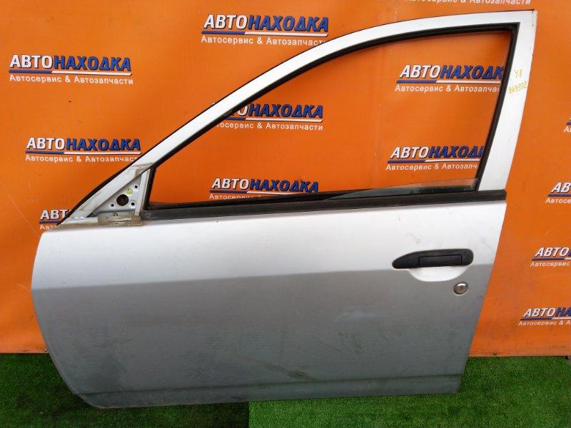 Дверь Nissan Ad VFY11 QG15DE 08.2000 передняя левая ДЕРЕВО