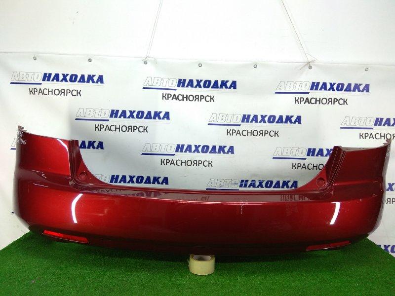 Бампер Mazda Cx-7 ER3P L3-VDT 2006 задний задний, 1 модель, бордовый (32V), с катафотами (P3726),