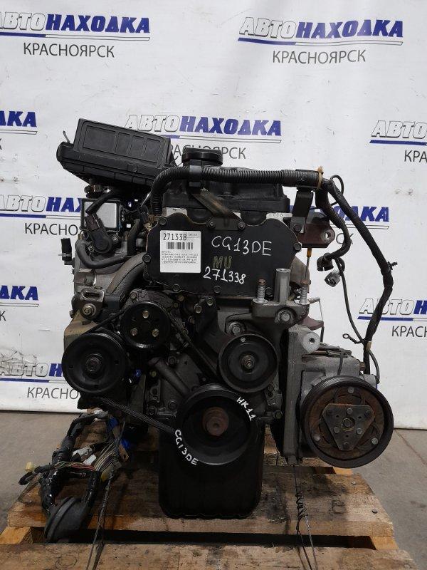 Двигатель Nissan March HK11 CG13DE 1997 № 333325A пробег 47 т.км. 1999 г.в. ХТС. С аукционного авто. Есть