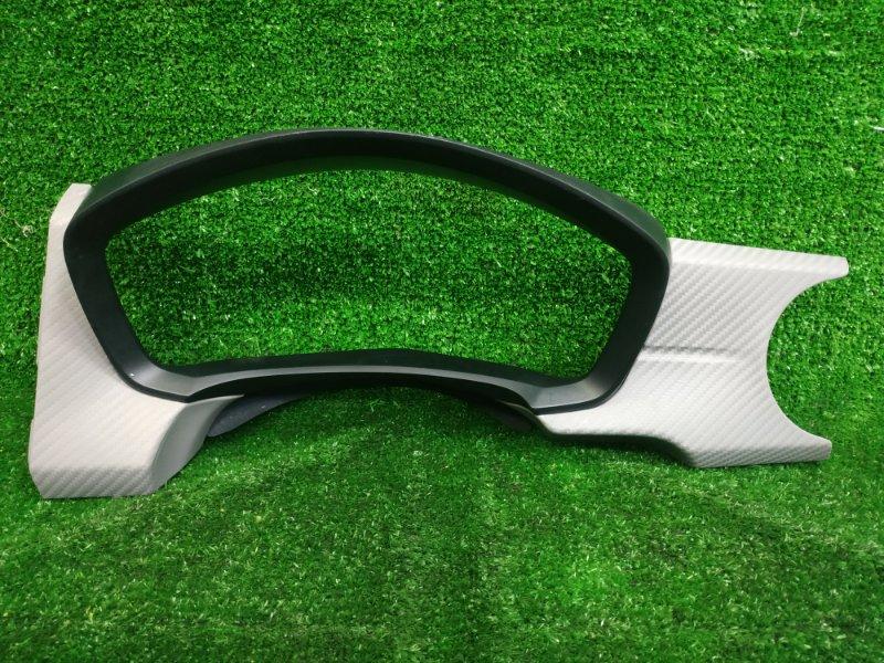 Козырек панели приборов Toyota Corolla Axio NZE161 1NZ-FE 2012 Облицовка комбинации приборов, под