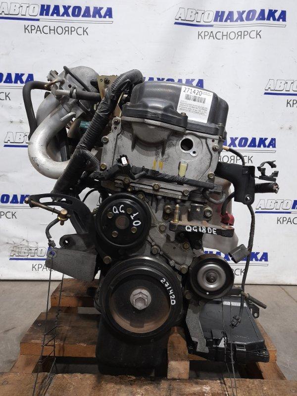 Двигатель Nissan Bluebird Sylphy QG10 QG18DE 2003 № 224883B пробег 49 т.км. 2005 г.в. ХТС. С аукционного авто.