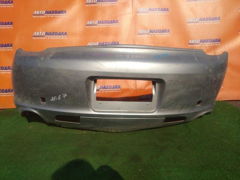 Бампер Toyota Soarer UZZ40 3UZ-FE 04.2001 задний ГОЛЫЙ