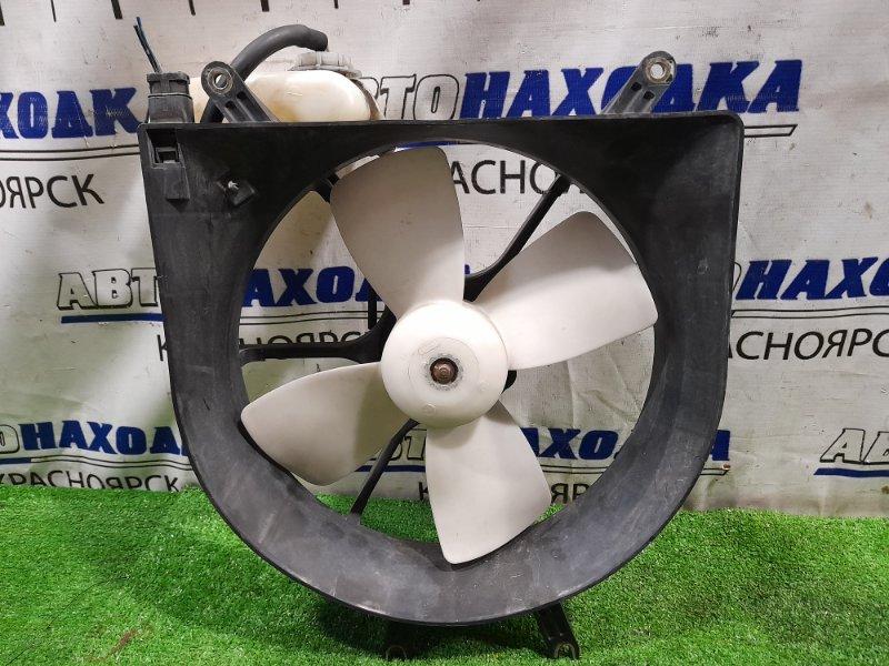 Вентилятор радиатора Honda Capa GA4 D15B 2000 с диффузором и бачком