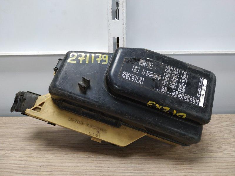 Блок предохранителей Toyota Raum EXZ10 5E-FE 1997 подкапотный