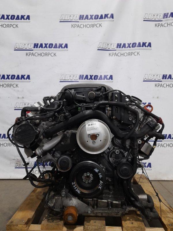 Двигатель Audi A6 C6 AUK 2004 AUK (3,2 л.) № 013081 пробег 74 т.км. С аукционного авто. В ХТС. Есть