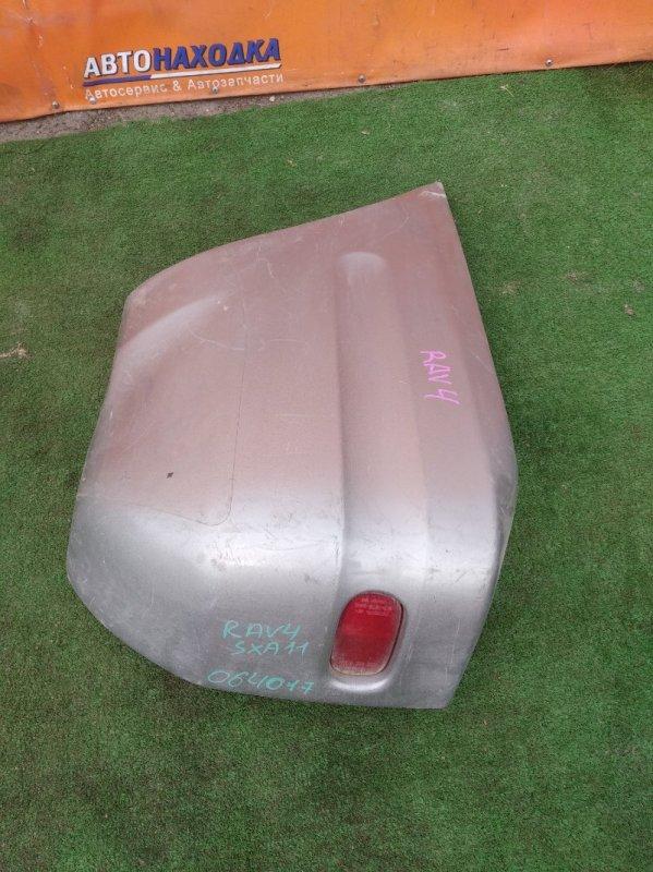 Клык бампера Toyota Rav4 SXA11 3S-FE 04.1995 задний левый STD, КАТАФОТ 7383