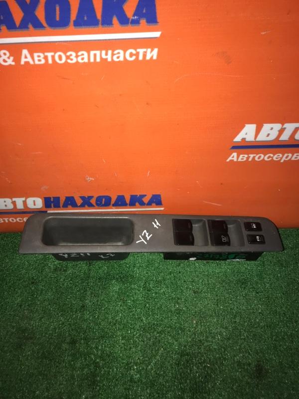 Блок управления стеклоподъемниками Nissan Cube YZ11 CR14DE 2002 передний правый в сборе 2 выхода