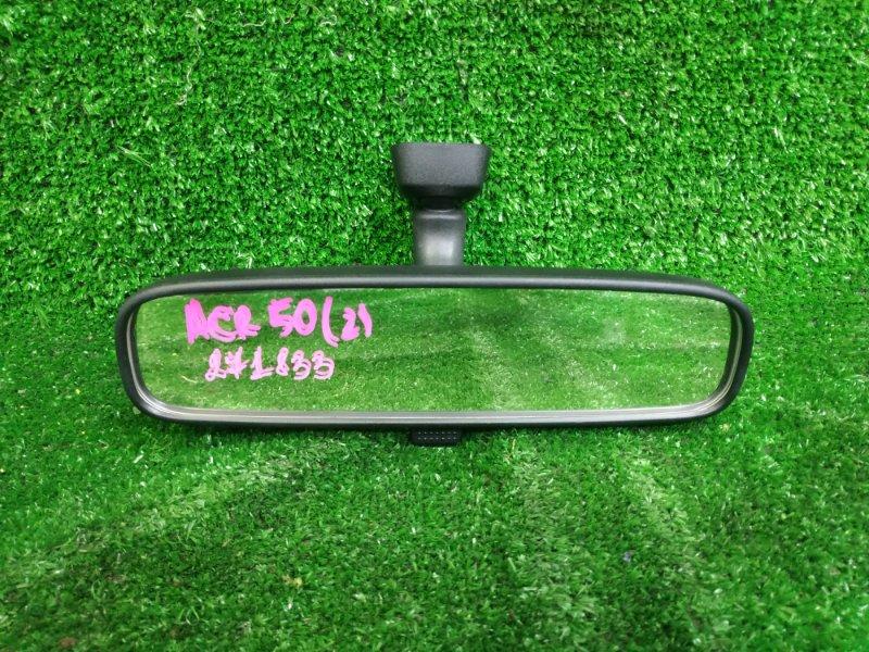 Зеркало салонное Toyota Estima ACR50W 2AZ-FE 2006 Чёрное, код салона: FC13