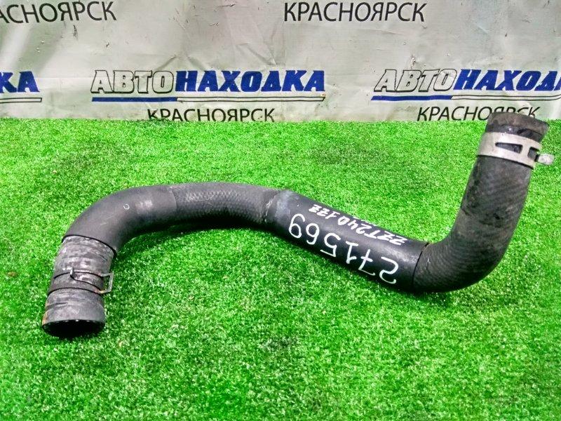 Патрубок тосольный Toyota Allion ZZT240 1ZZ-FE 2001 нижний радиатора, нижний