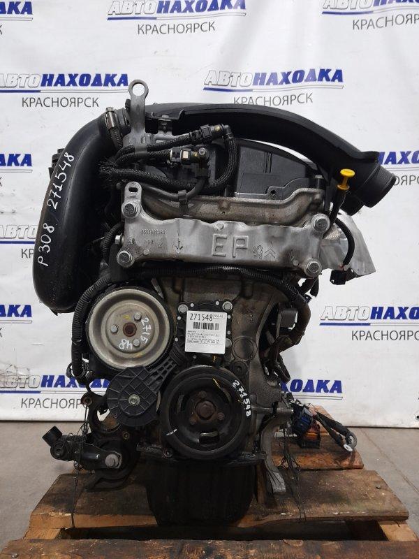 Двигатель Peugeot 308 T7 EP6DT 2007 1.6 THP 16v 150 (EP6DT) № 0327338 (турбо) пробег 55 т.км. ХТС. 2008 г.в. С