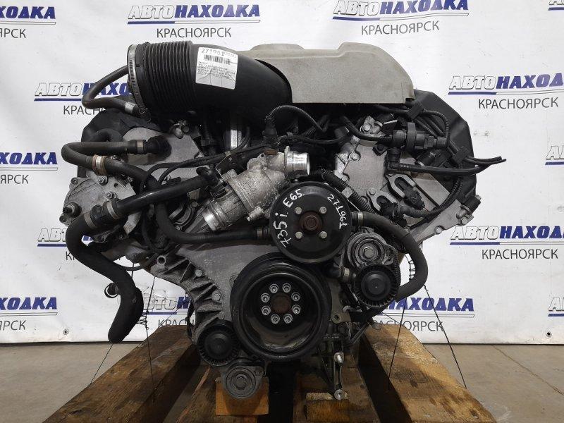 Двигатель Bmw 735I E65 N62B36 2001 N62B36A № 50593055 пробег 43 т.км.! ОТС! С аукционного авто. Есть