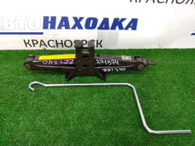 Домкрат Toyota Allion ZZT240 1ZZ-FE 2001 Грузоподъемность 1000 кг., с ручкой
