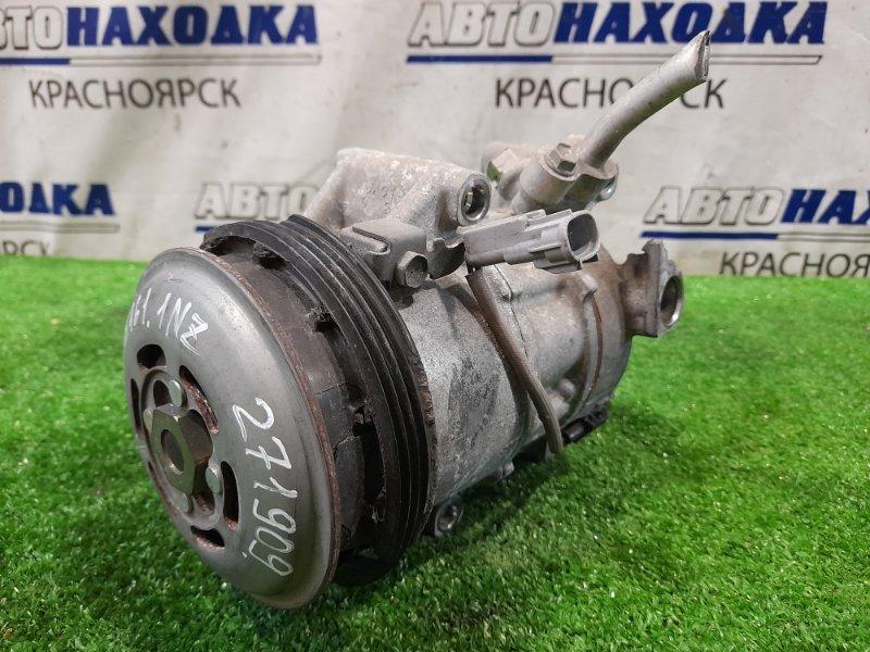 Компрессор кондиционера Toyota Corolla Axio NZE161 1NZ-FE 2012 Шкив сломан. Цена с учетом дефекта *