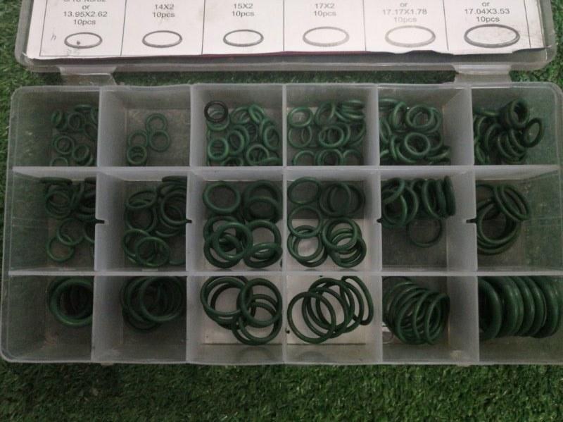 Кольцо резиновое зеленые