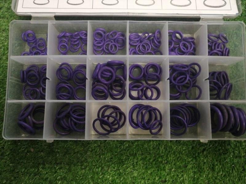 Кольцо резиновое фиолетовые