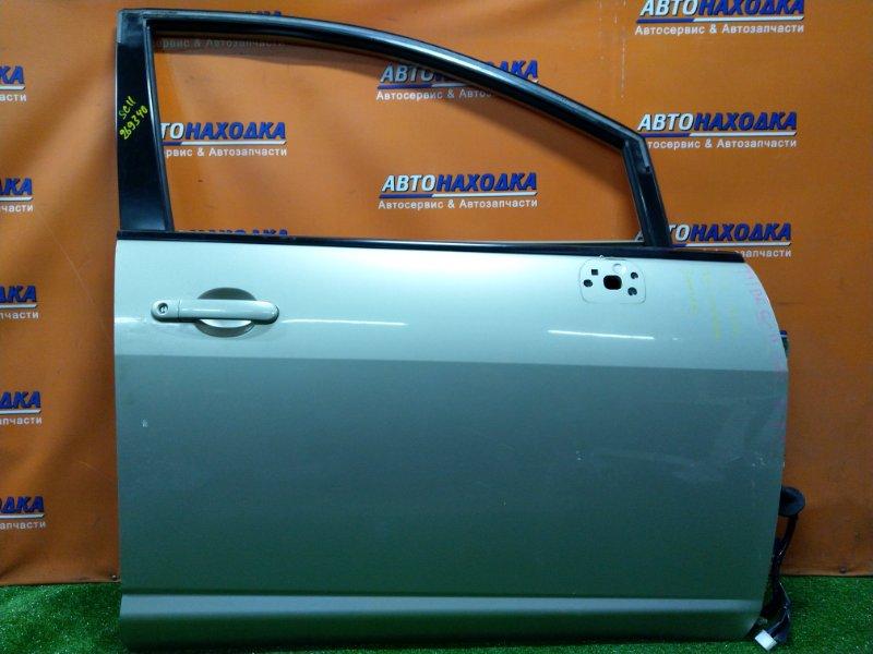 Дверь Nissan Tiida SC11 HR15DE передняя правая Без замка, БЕЗ СТЕКЛА И С/П, УГОЛ ЗАГНУТ СНИЗУ,