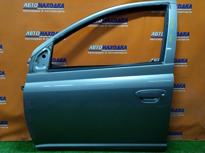 Дверь Toyota Vitz NCP13 1NZ-FE 09.2003 передняя левая