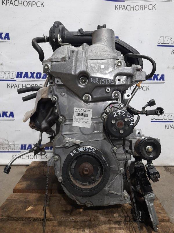 Двигатель Nissan Note E11 HR15DE 2008 № 239522B пробег 29 т.км. ОТС. 2009 г.в. С аукционного авто. Есть