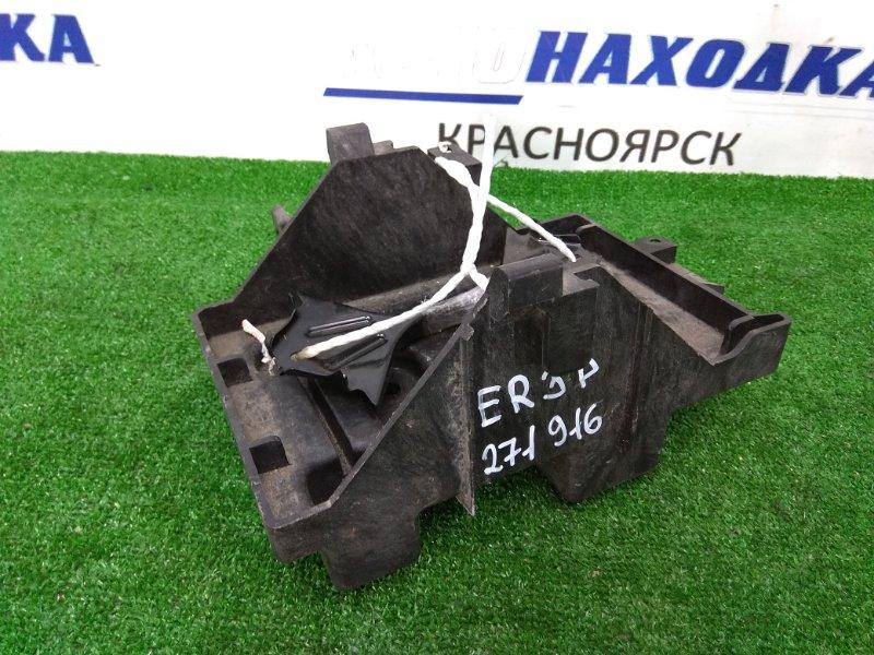 Крепление аккумулятора Mazda Cx-7 ER3P L3-VDT 2006 под широкую АКБ + пластиковая подставка
