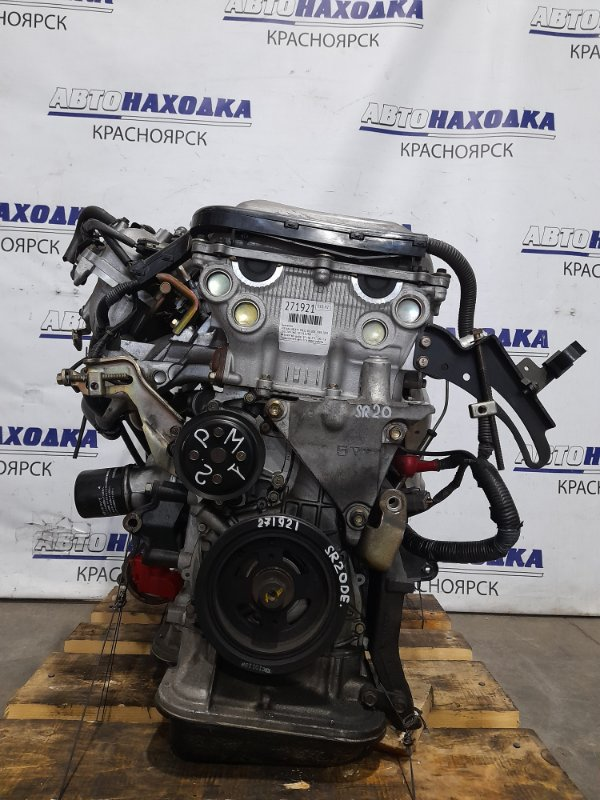 Двигатель Nissan Liberty PM12 SR20DE 1998 № 394974B пробег 49 т.км. ХТС. 2001 г.в. С аукционного авто.