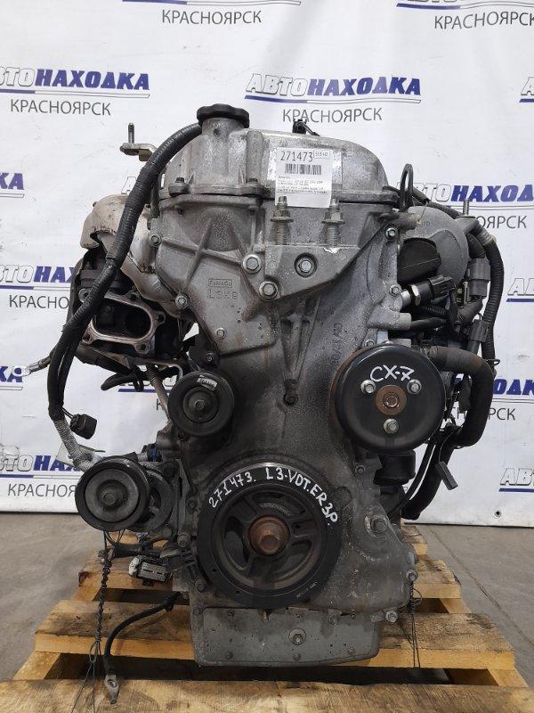 Двигатель Mazda Cx-7 ER3P L3-VDT 2006 L3-VDT № 902471 (турбо) пробег 119 т.км. ХТС. С аукционного авто.
