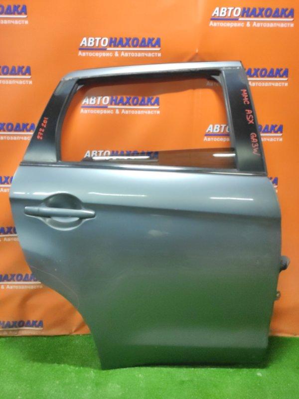 Дверь Mitsubishi Asx GA3W 4B10 задняя правая