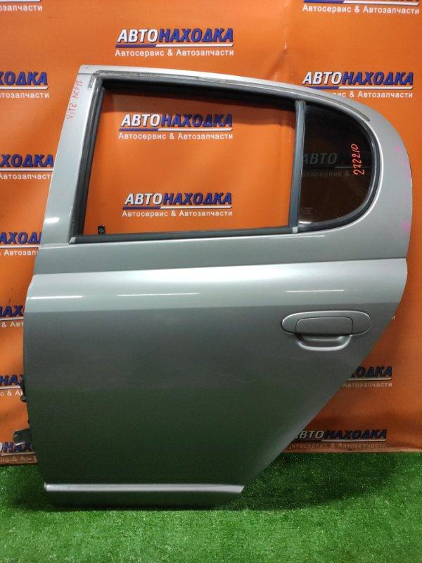 Дверь Toyota Vitz NCP13 1NZ-FE 09.2003 задняя левая