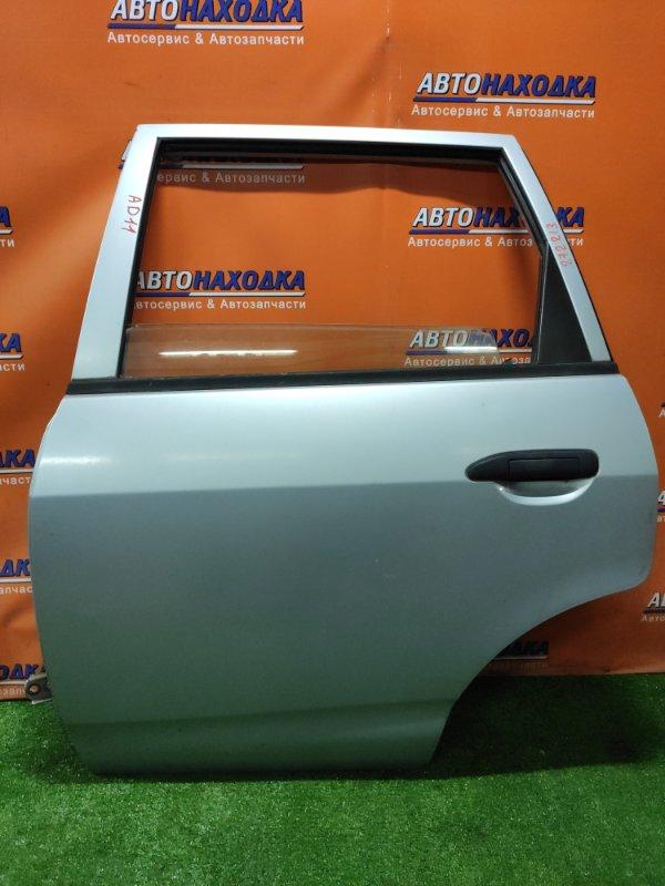 Дверь Nissan Ad VFY11 QG15DE 08.2000 задняя левая