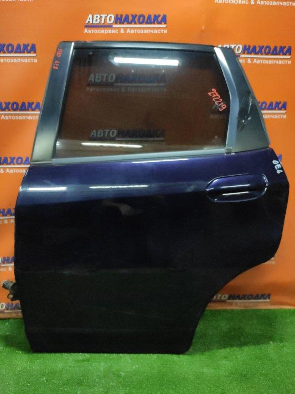Дверь Honda Fit GE6 L13A задняя левая