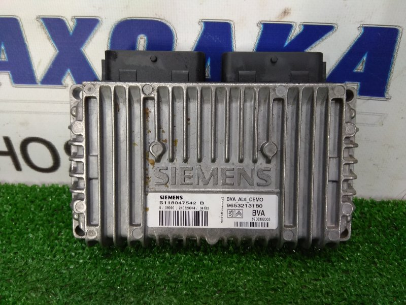 Компьютер Peugeot 206 2A/C TU5JP4 2003 блок управления АКПП