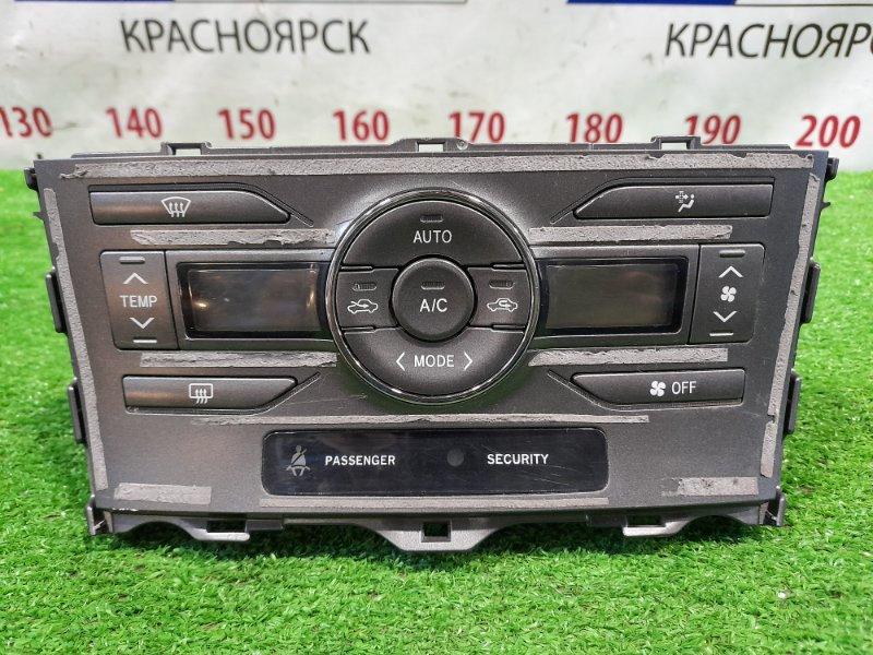 Климат-контроль Toyota Auris ZRE152H 2ZR-FE 2006 электронный