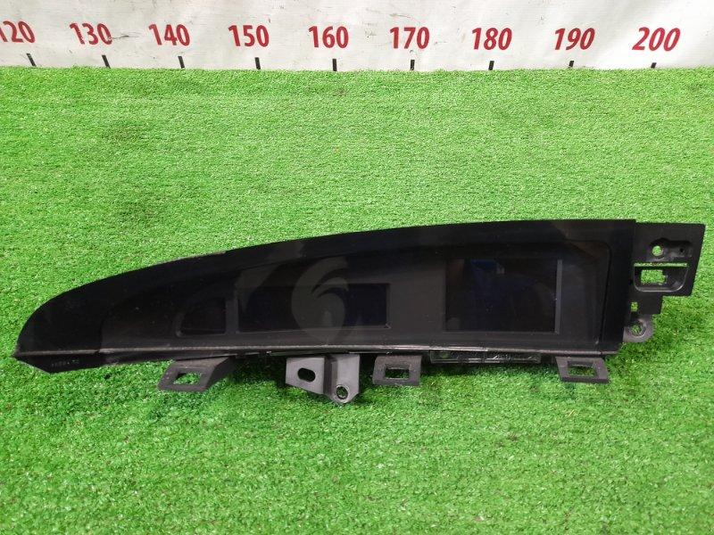 Дисплей Mazda Axela BL5FW ZY-VE 2009 электронное табло, в верхней части торпедо