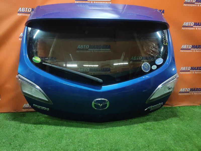 Дверь задняя Mazda Axela BLFFW PE-VPS +МЕТЛА, +СПОЙЛЕР, ВСТАВКИ P8241