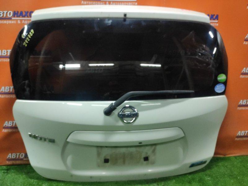 Дверь задняя Nissan Note E12 HR12DE +МЕТЛА, +КАМЕРА,