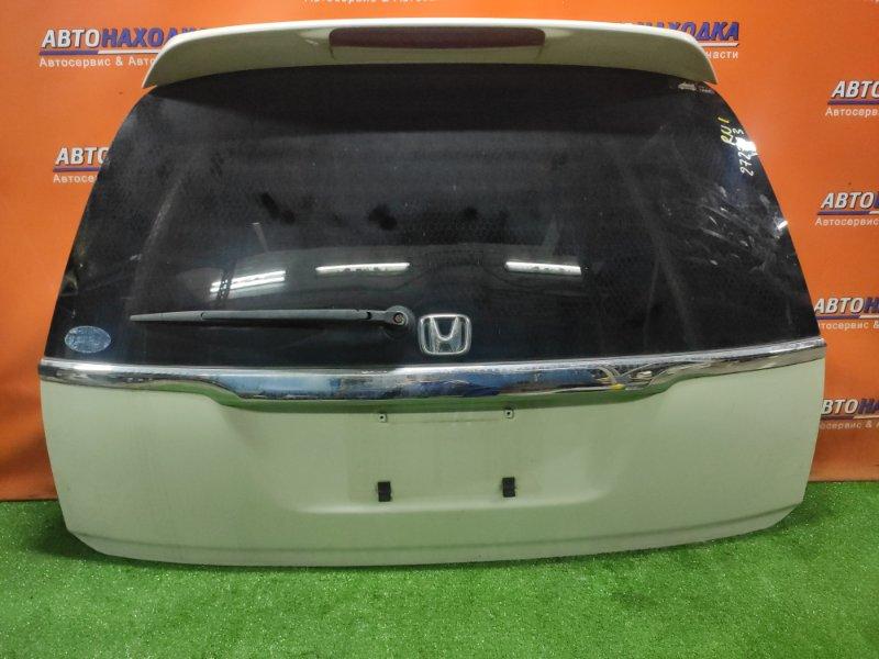 Дверь задняя Honda Stream RN1 D17A 2001 +МЕТЛА, +СПОЙЛЕР,
