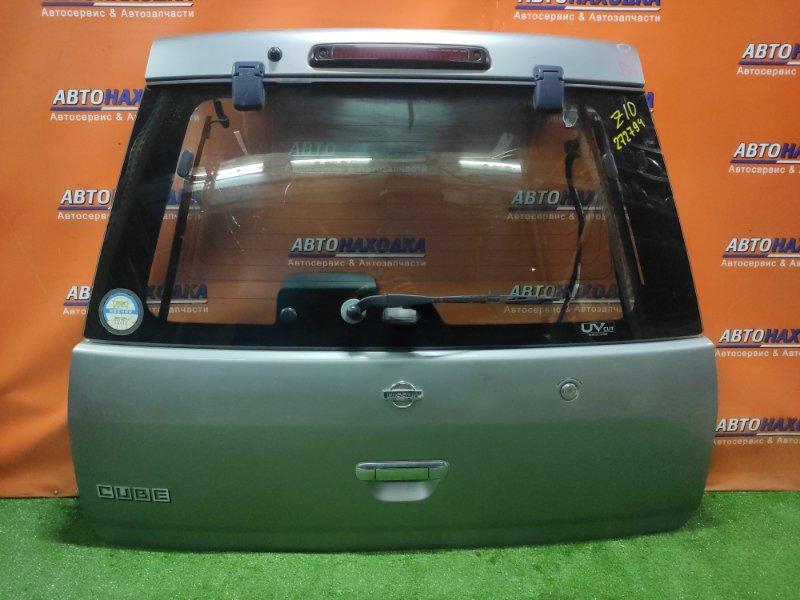 Дверь задняя Nissan Cube Z10 CG13DE 10.1998 +МЕТЛА,