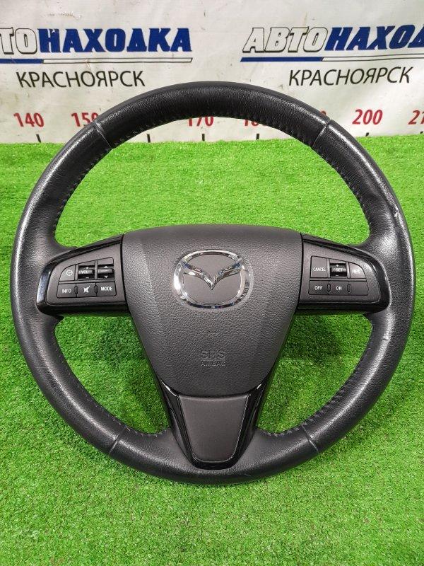 Airbag Mazda Atenza GHEFW LF-VD 2010 водительский, с рулем, кожа, с кнопками, с подушкой, без заряда