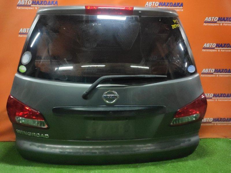 Дверь задняя Nissan Wingroad Y12 HR15DE 12.2006 +МЕТЛА, +ВСТАВКА 132-24857