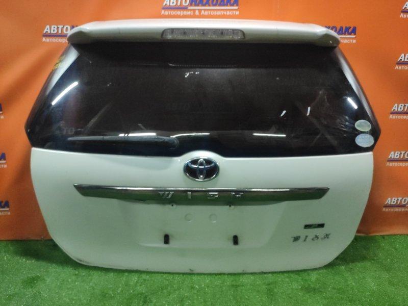 Дверь задняя Toyota Wish ANE11 1AZ-FSE 09.2005 +МЕТЛА, +СПОЙЛЕР, +КАМЕРА,