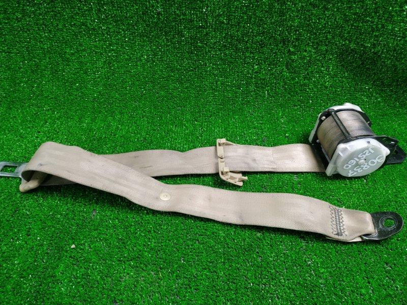 Ремень безопасности Toyota Aristo JZS160 задний 0 задний средний/беж
