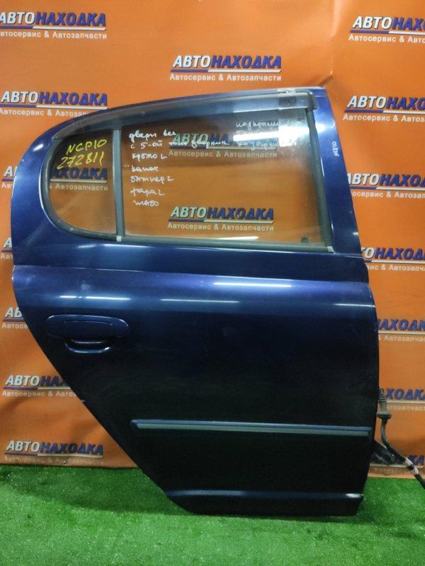 Дверь Toyota Vitz NCP10 1NZ-FE задняя правая