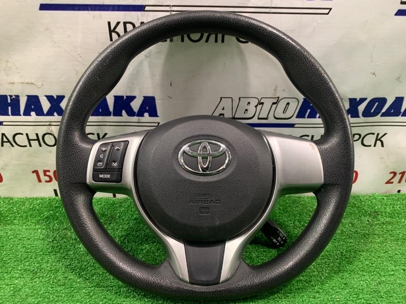 Airbag Toyota Ractis NCP120 1NZ-FE 2010 Водительский, без заряда, с рулем.